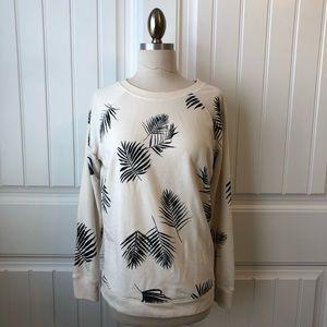 Palm Leaf Sweatshirt